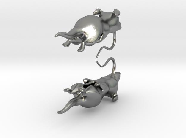 Rat Earings 3d printed