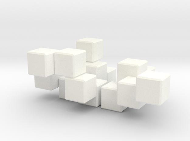 Three Piece Whatsit 3d printed