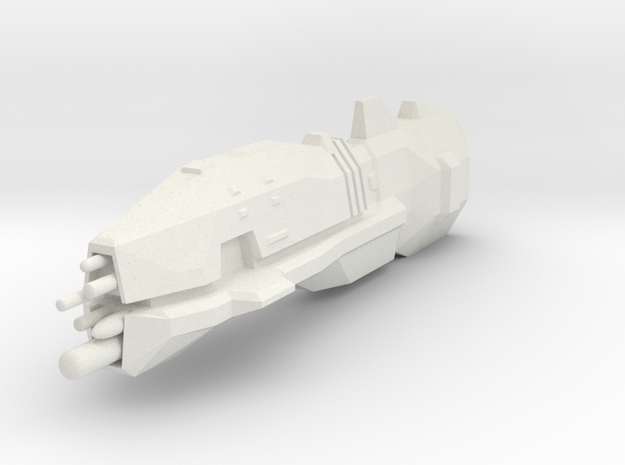 USF Light Cruiser 3d printed