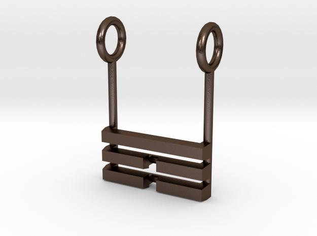 I Ching Trigram Pendant - Ken Lower 3d printed
