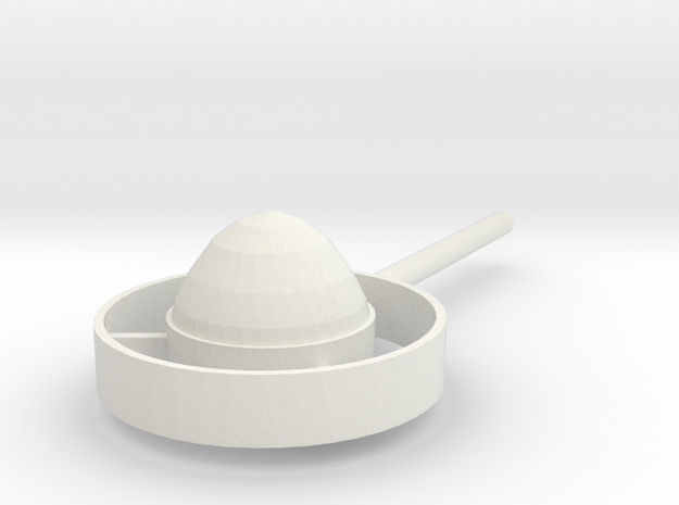 Halo in White Natural Versatile Plastic