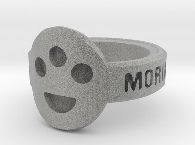 The Post-Human Society Ring 3d printed