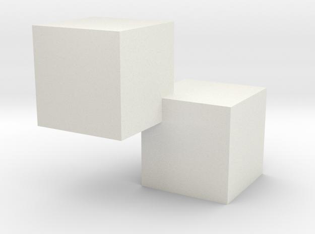 testnew in White Natural Versatile Plastic
