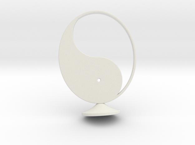 YingYang standard in White Natural Versatile Plastic