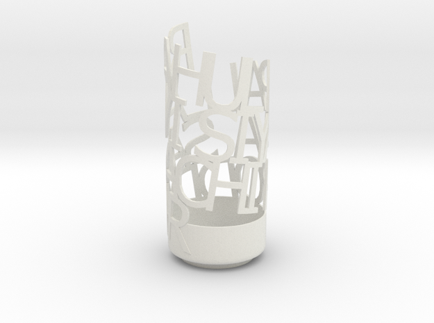 Light Poem Rahul Family 3d printed