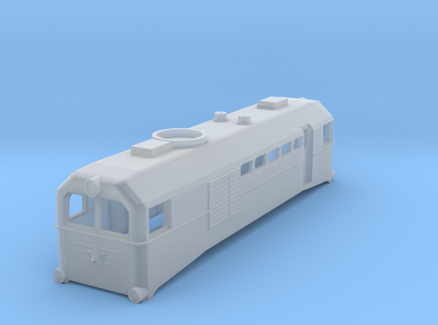 H0e Scale USSR TU2 Locomotive 3d printed