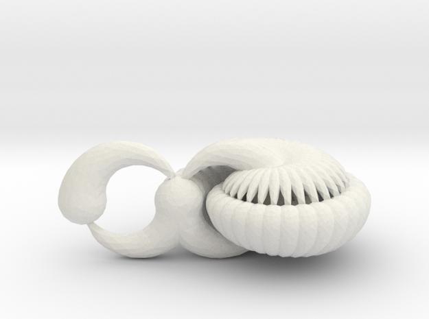 Nautilus in White Natural Versatile Plastic