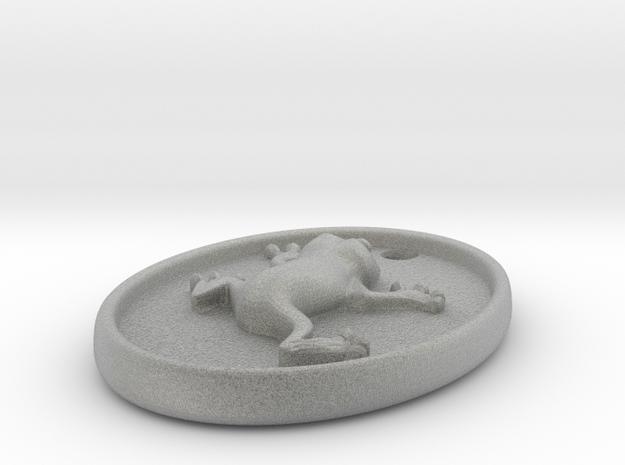 Frog Pendant 3d printed