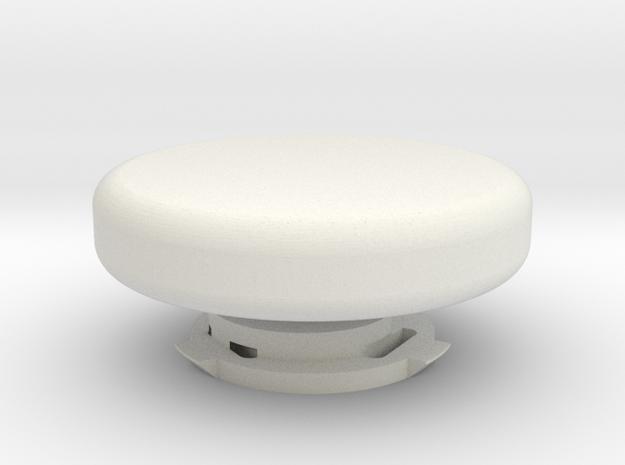 Pan-Tilt for GoPro (closure knob) in White Natural Versatile Plastic
