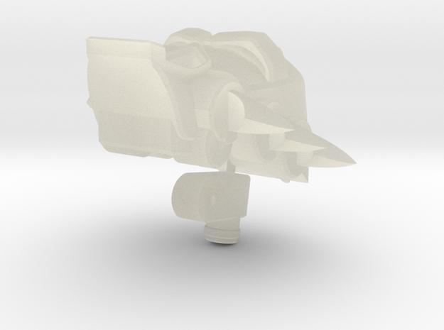 Shockaract head for Animated Shockwave 3d printed