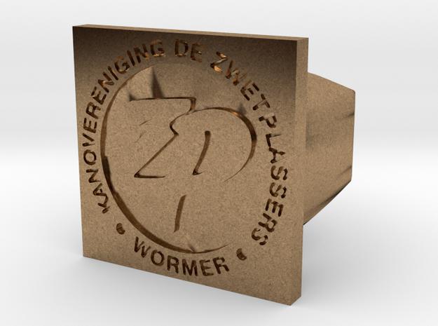 Zwetplassers Zegelring Vierkant 3d printed