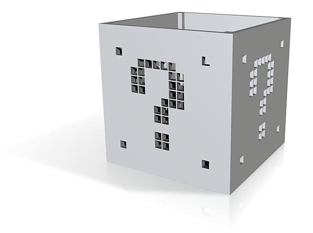Super Mario Question Box 3d printed
