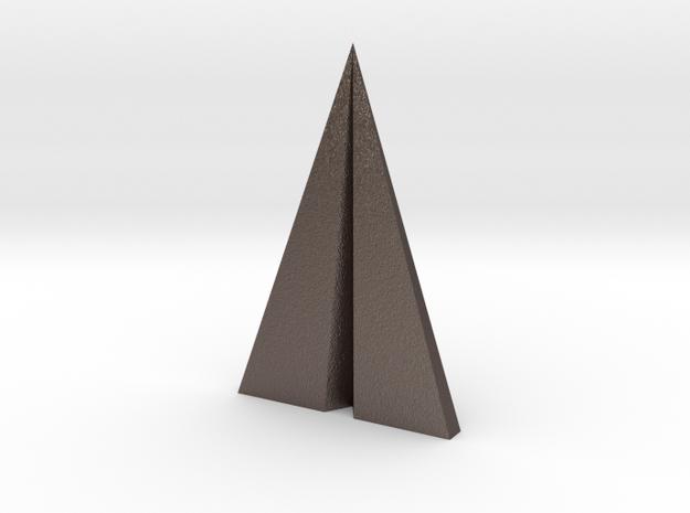 Paper plane pendant 3d printed