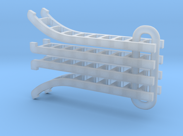UP Water Tender Ladders (2007-Present) in Smooth Fine Detail Plastic