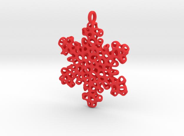 Snowflake Ornament - Carraigín 3d printed