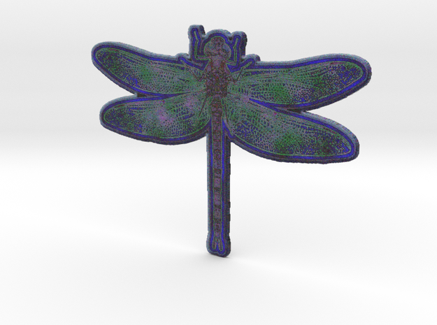 Dragonfly I in White Natural Versatile Plastic