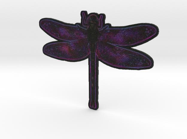 Dragonfly K in White Natural Versatile Plastic