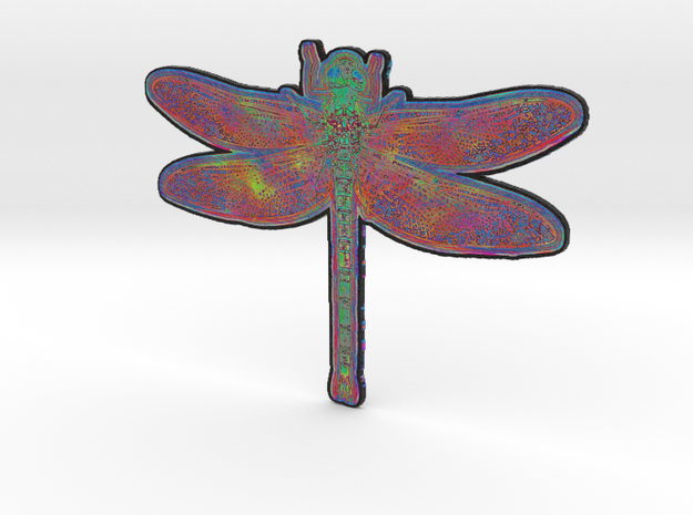Dragonfly N in Full Color Sandstone
