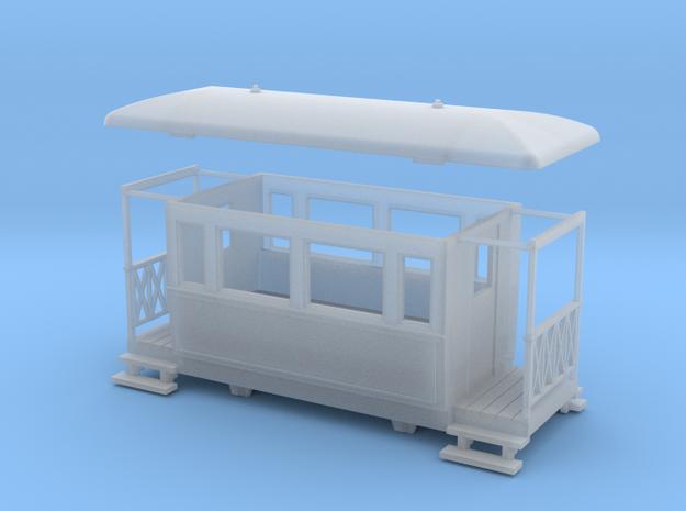 OO9 4w Tramway coach 3d printed