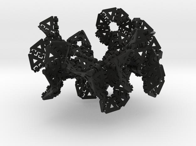 {3,7} radius 3 3d printed