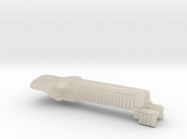 Fleet Scale Series 1: Terran Battleship 3d printed