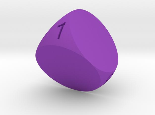 D4 Sphere Dice 3d printed