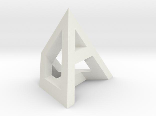 ADHD 75mm in White Natural Versatile Plastic