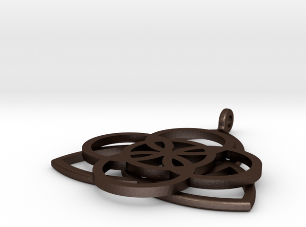 Celtic Necklace Pendant or Keychain 3d printed