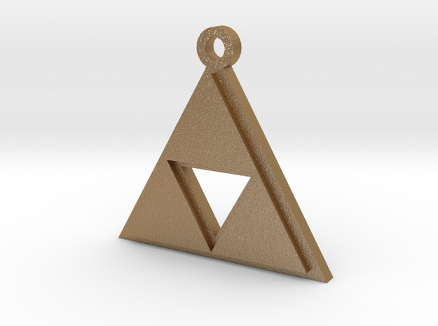 Zelda Triforce Pendant 3d printed