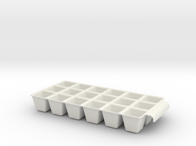 Icetray in White Strong & Flexible