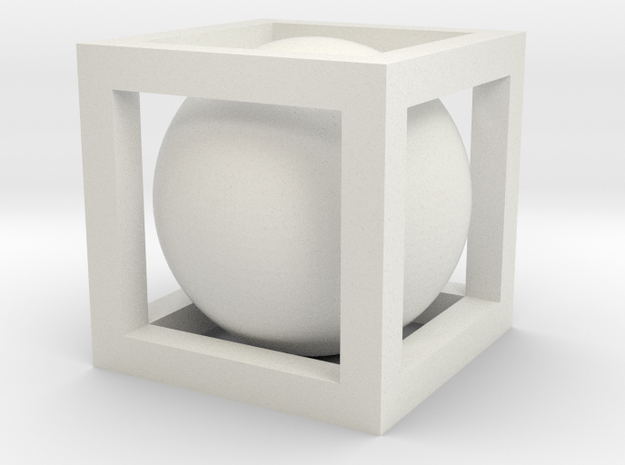 Ball In Box 3d printed