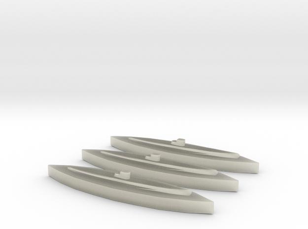 U-459 (Type XIV) 1/1800 x3 3d printed