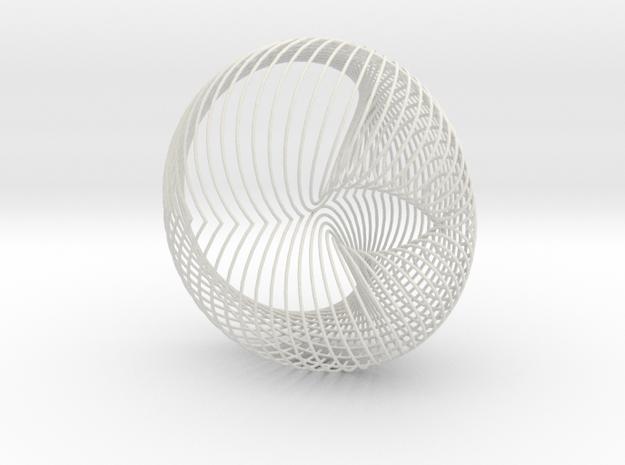 Globesys.5sym in White Natural Versatile Plastic