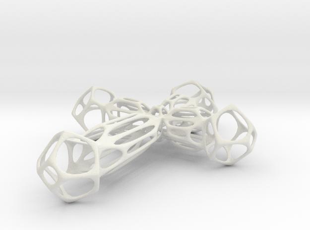 Crucis in White Natural Versatile Plastic
