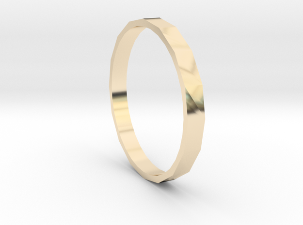 Square One - Sz. 9 in 14K Yellow Gold