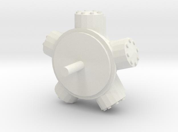 Staffa Motor scale 1:50 in White Natural Versatile Plastic