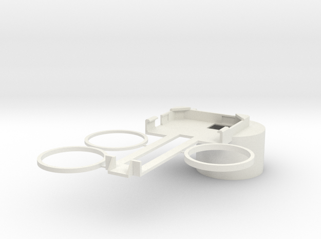 Canon IS 15x50 iPhone 5/5S Adapter in White Natural Versatile Plastic