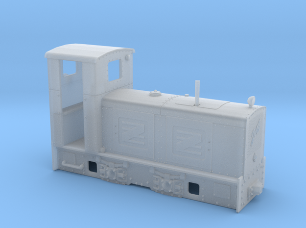 Feldbahn Jung ZL 233 (Spur 0e/f) in Smooth Fine Detail Plastic