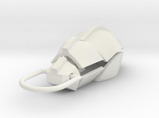 Beetle 2 in White Natural Versatile Plastic