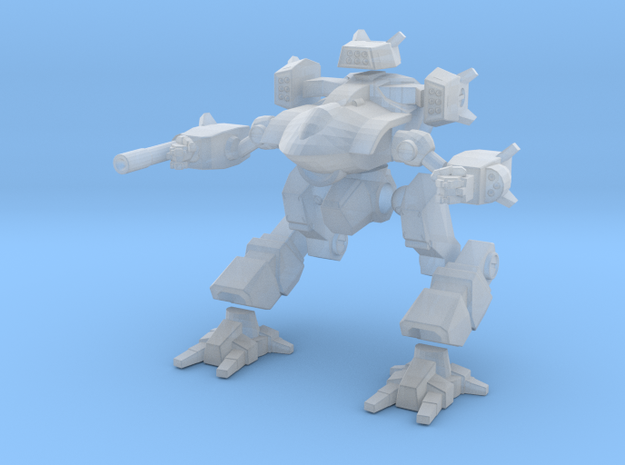 Mecha- Guardian II (1/285th) Multi-Part in Smooth Fine Detail Plastic