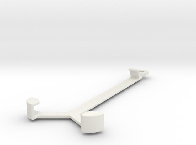 iPhone 5/5s car holder in White Natural Versatile Plastic