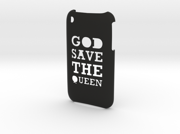 'Queen' iPhone 3GS Cover 3d printed