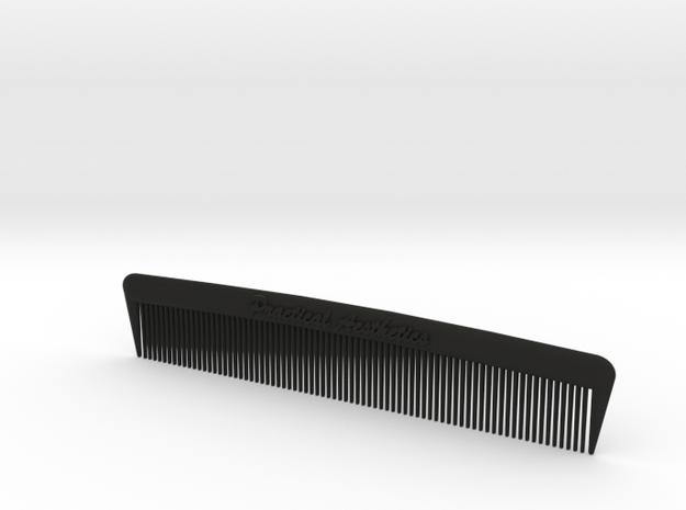 Pocket Comb, 5 inch, Fine Tooth 3d printed