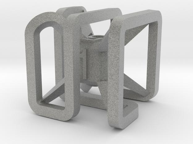 x dice 3d printed