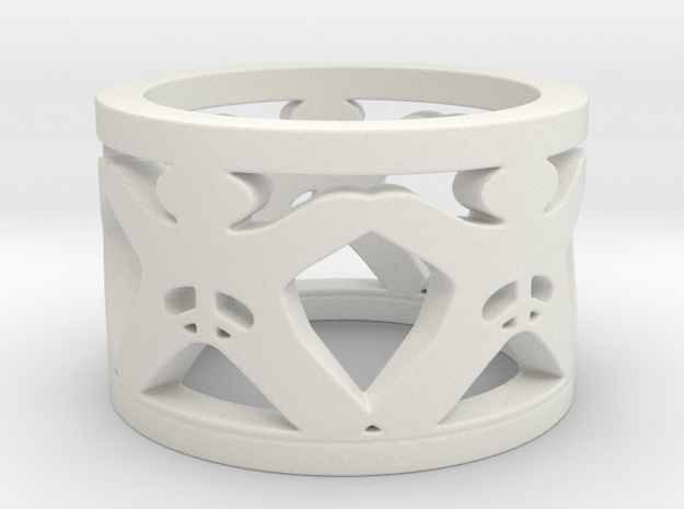 Intactivist Ring Size 6 in White Strong & Flexible