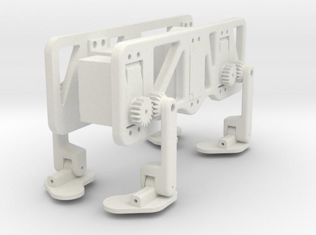 Chameleon Crawling Robot 3d printed
