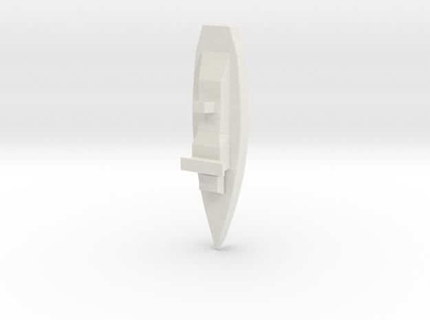 Little Battleship 3d printed