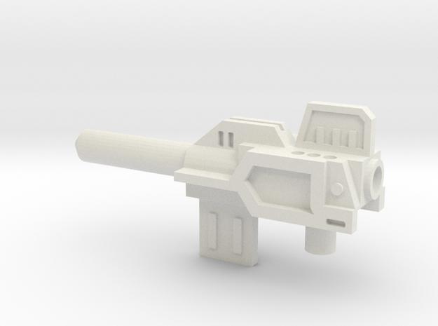 Sunlink - Minderaser v2 w/ 5mm Peg in White Natural Versatile Plastic