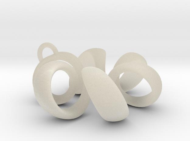 pendant spiral 1 3d printed