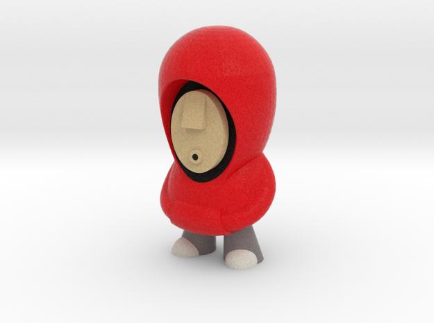 7cm Red Hoodie 3d printed
